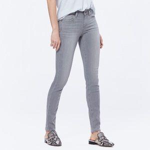 Paige Verdugo Ultra Skinny Grey Jeans